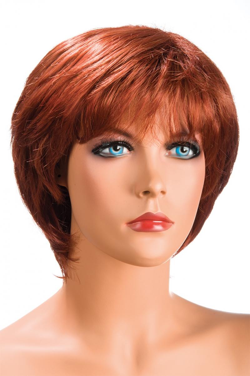 Magasin de perruque femme rousse Sofia perruque synthétique