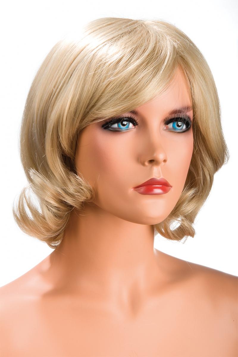 Magasin de perruque femme blonde Victoria perruque synthétique