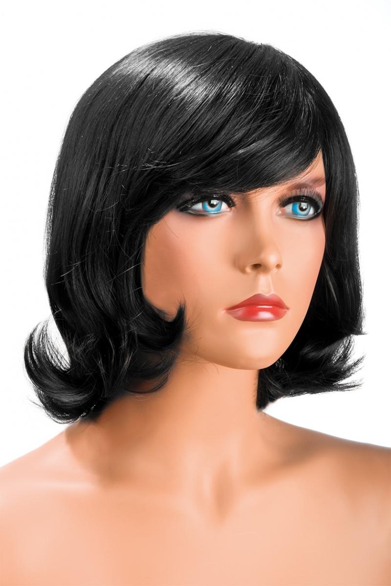 Magasin de perruque femme brune Victoria perruque synthétique