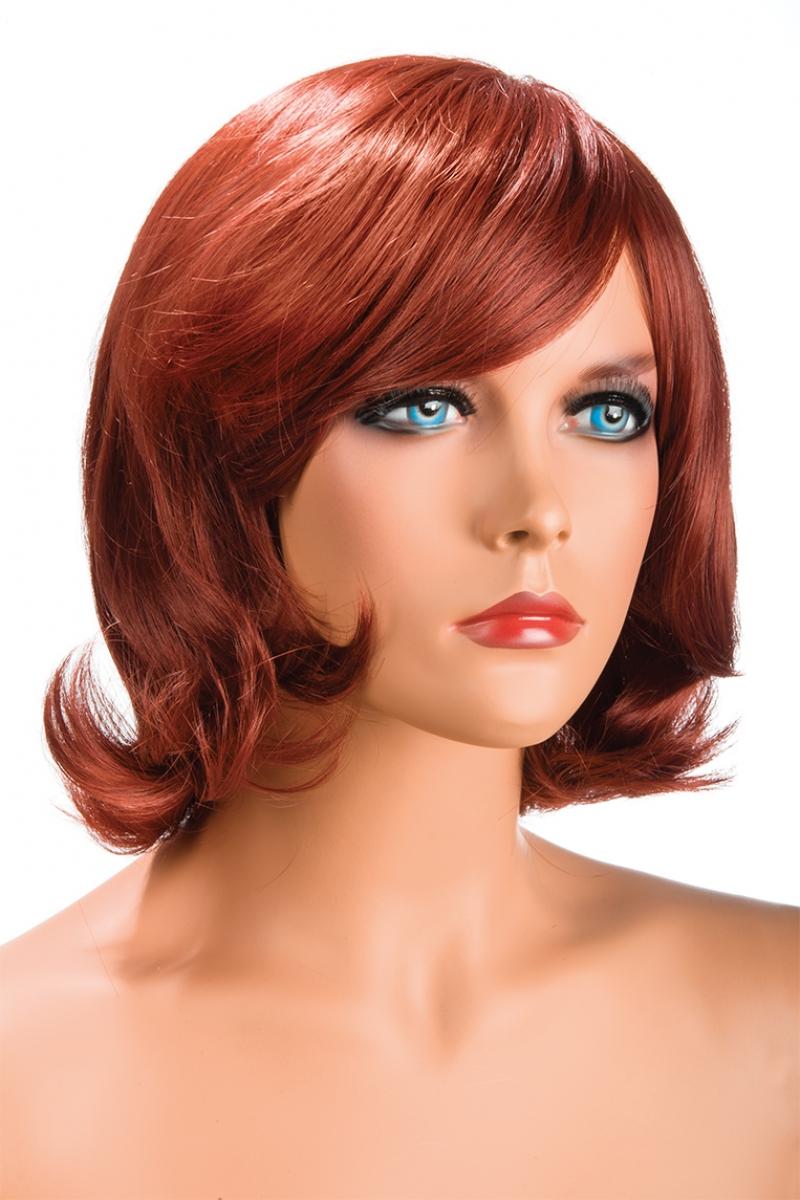 Magasin de perruque femme rousse Victoria perruque synthétique