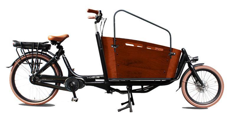biporteur électrique carry II 26 2 roues noir brun mat
