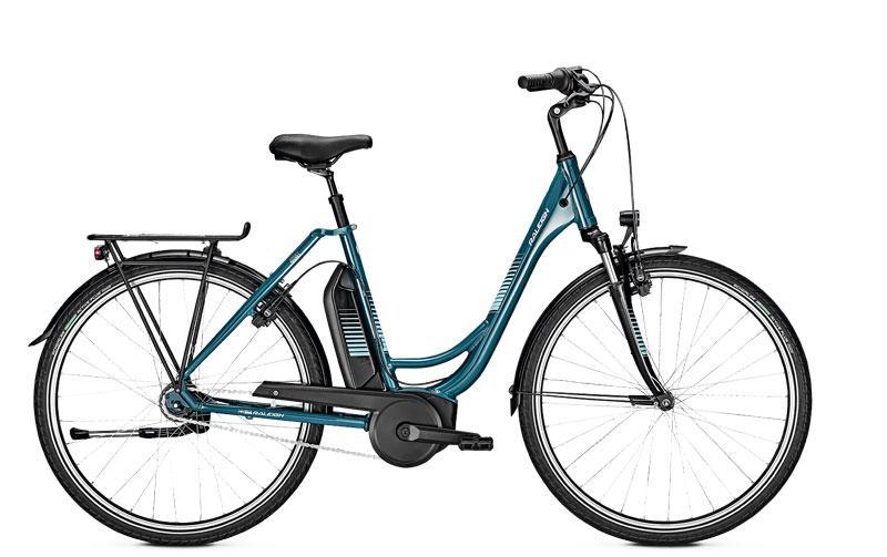 Vélo électrique haut de gamme femme 28 pouces Jersey 7 h52 blue