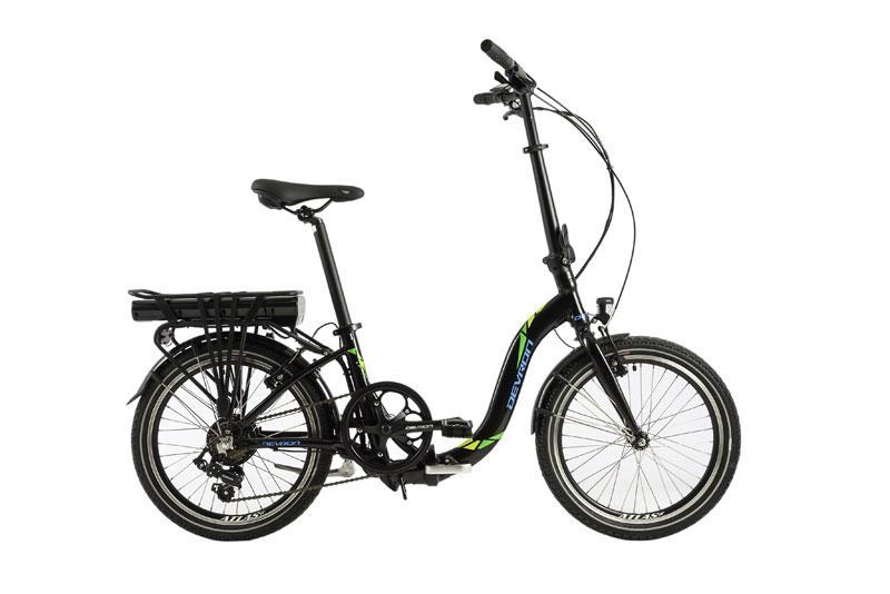 vélo électrique devron electric folding H42 noir 20