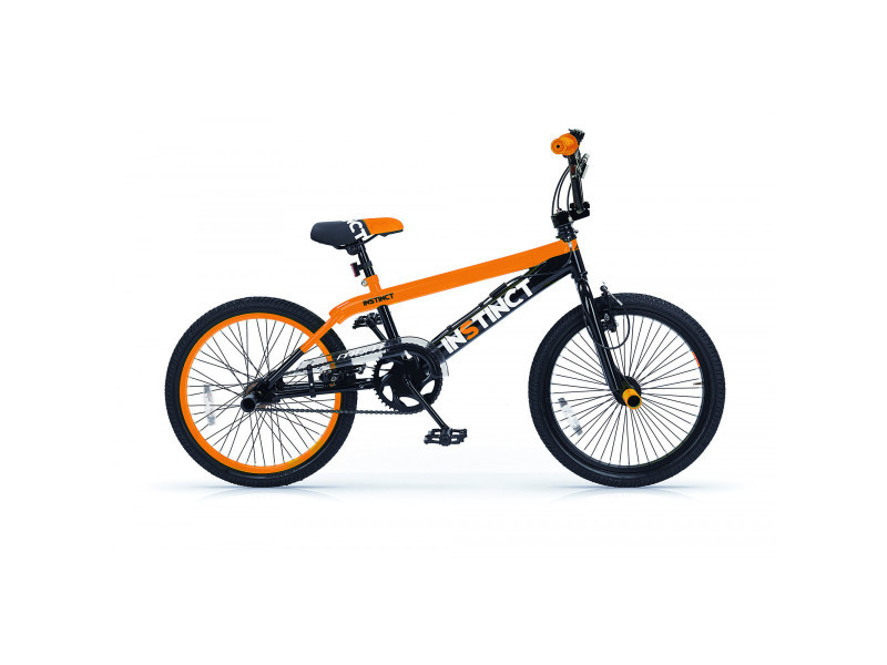 BMX instinct freestyle 20 noir orange