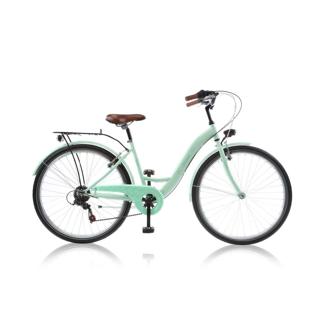 citybike enfant amazone 20 6 vitesses vert clair