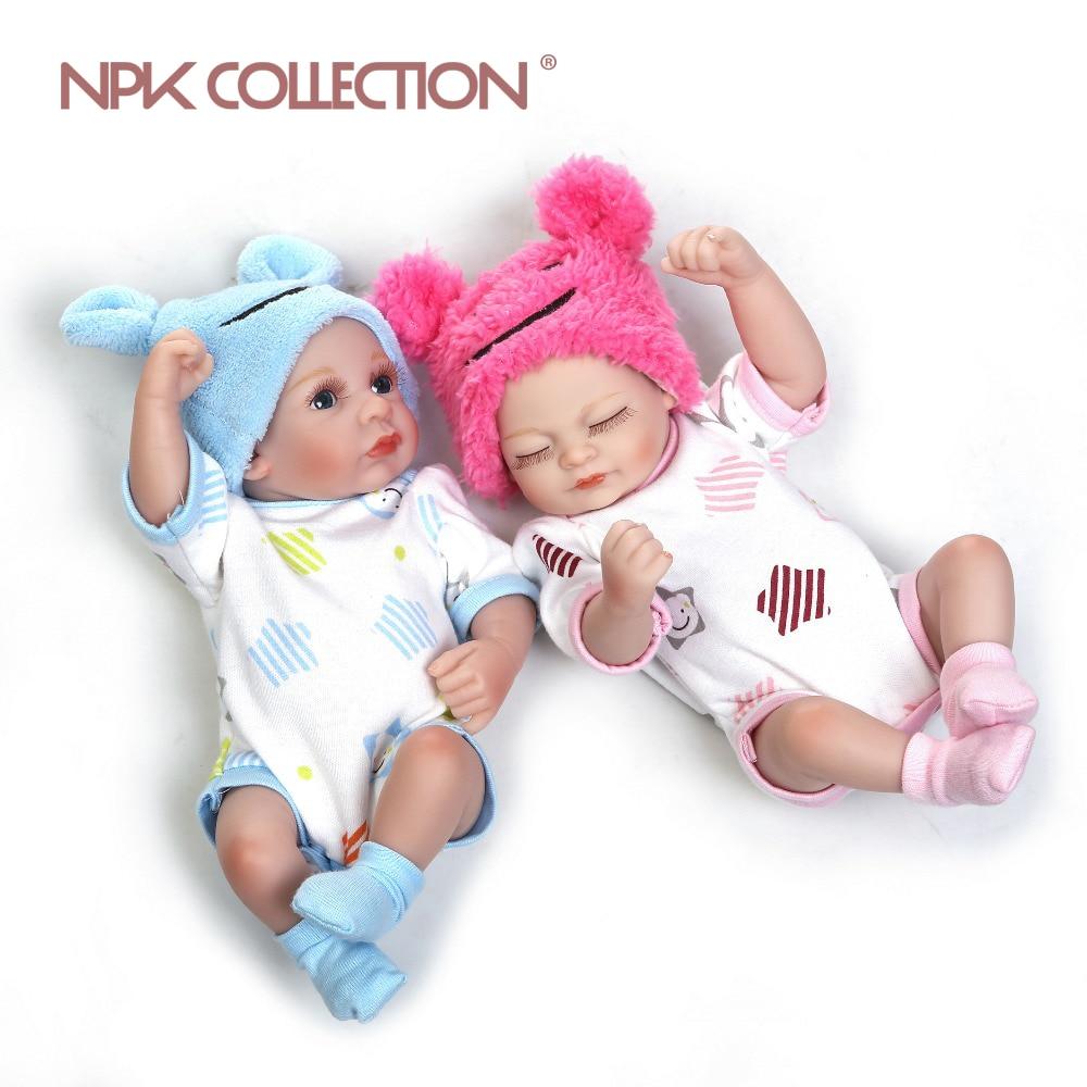 nouveau né bébé reborn fille 28 cm npk CF001 002