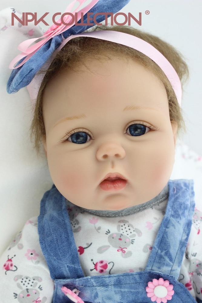 Bébé reborn petite fille 55 cm npk collection reference A