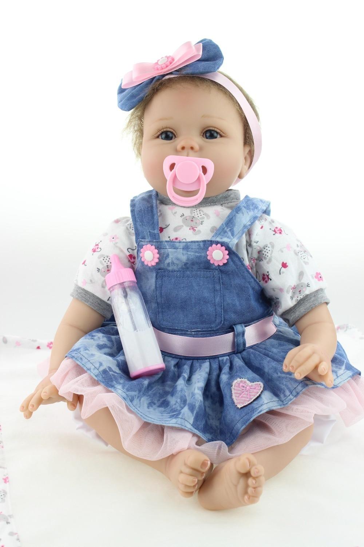 Bébé reborn fille poupee 55 cm npk collection reference A