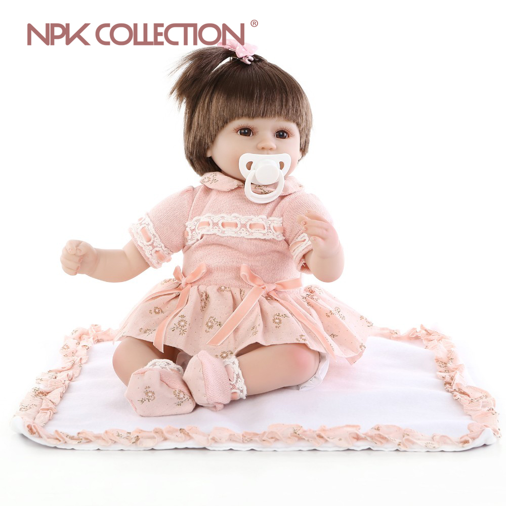 Bébé reborn fille poupee 40 cm npk collection reborn 18NPK7009
