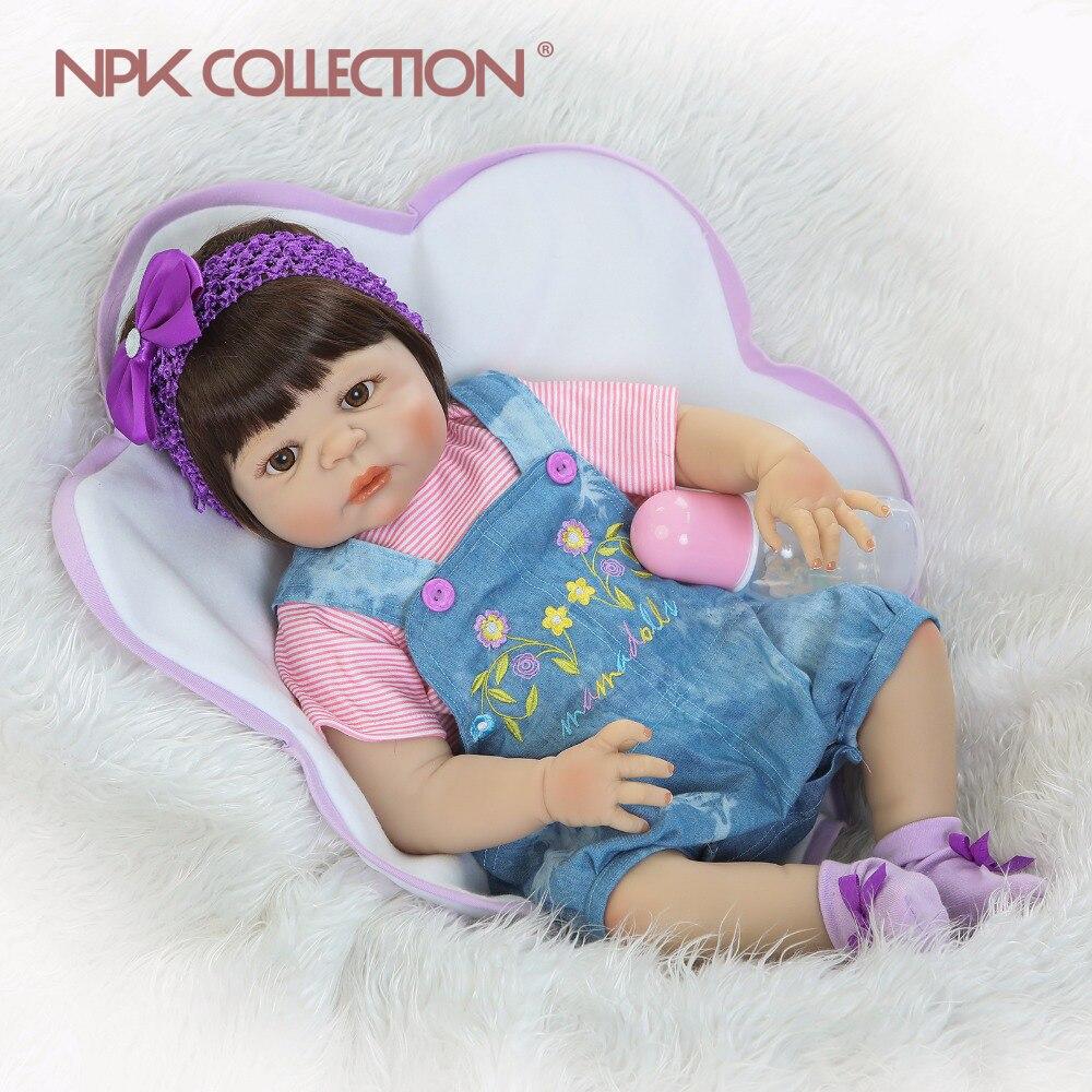 Bebe reborn en silicone souple fille npk collection 0001