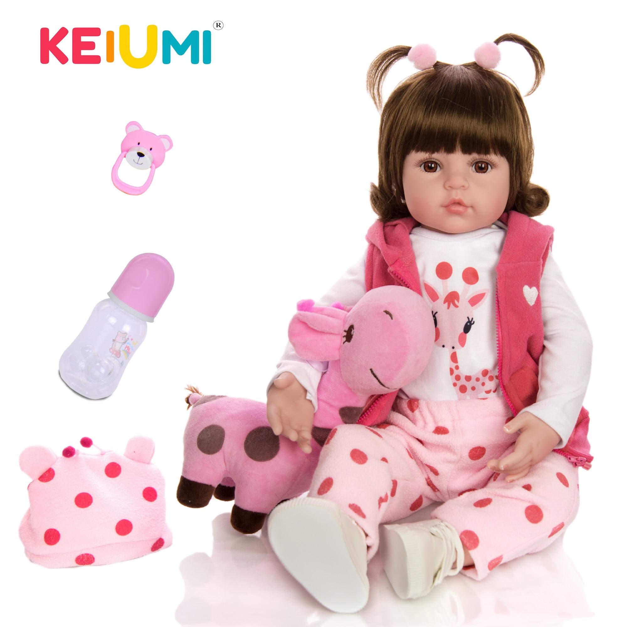 Bebe reborn realiste bébé reborn fille poupée reborn Keiumi 0005