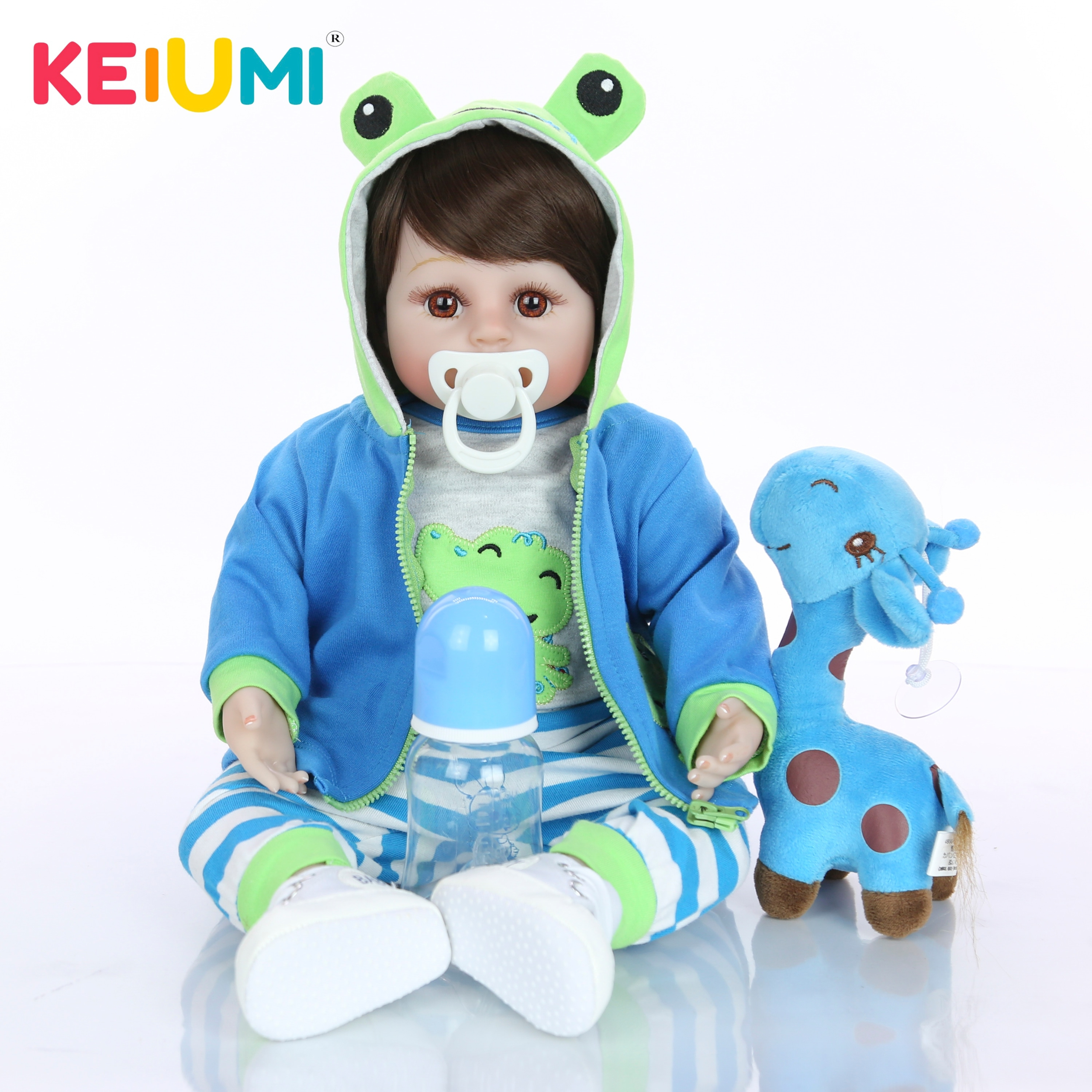 Bebe reborn realiste bébé reborn fille poupée reborn Keiumi 0003