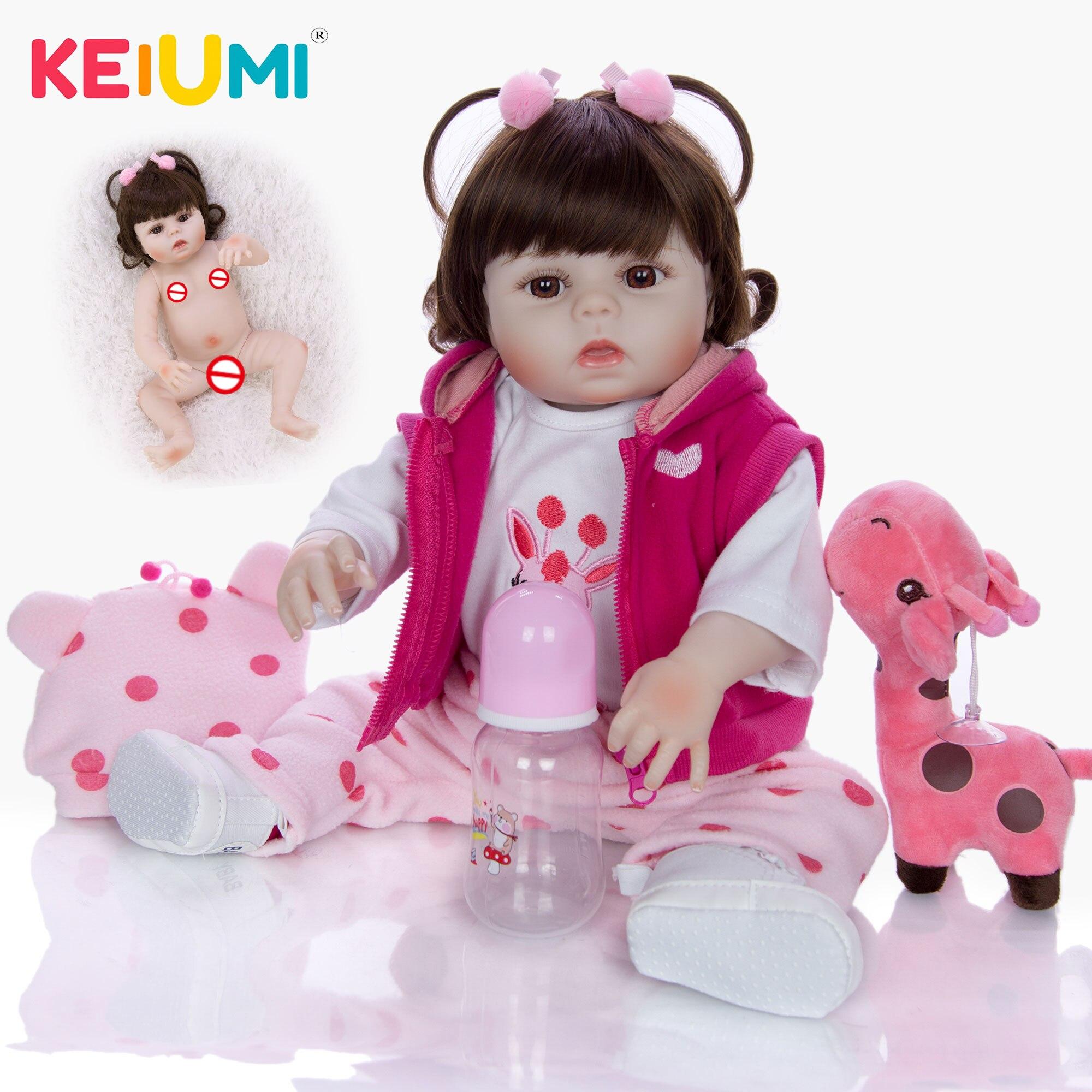 Bebe reborn realiste bébé reborn fille poupée reborn Keiumi 0002