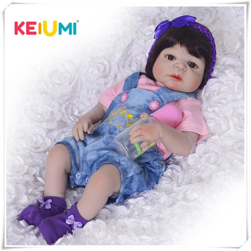 Bebe reborn realiste bébé reborn fille poupée reborn Keiumi 0001
