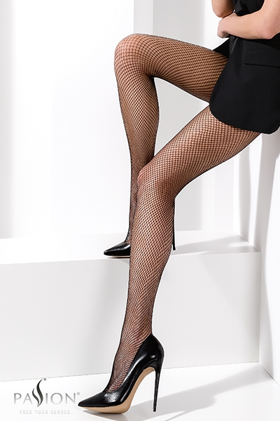 Collants résille TI020 Noir passion