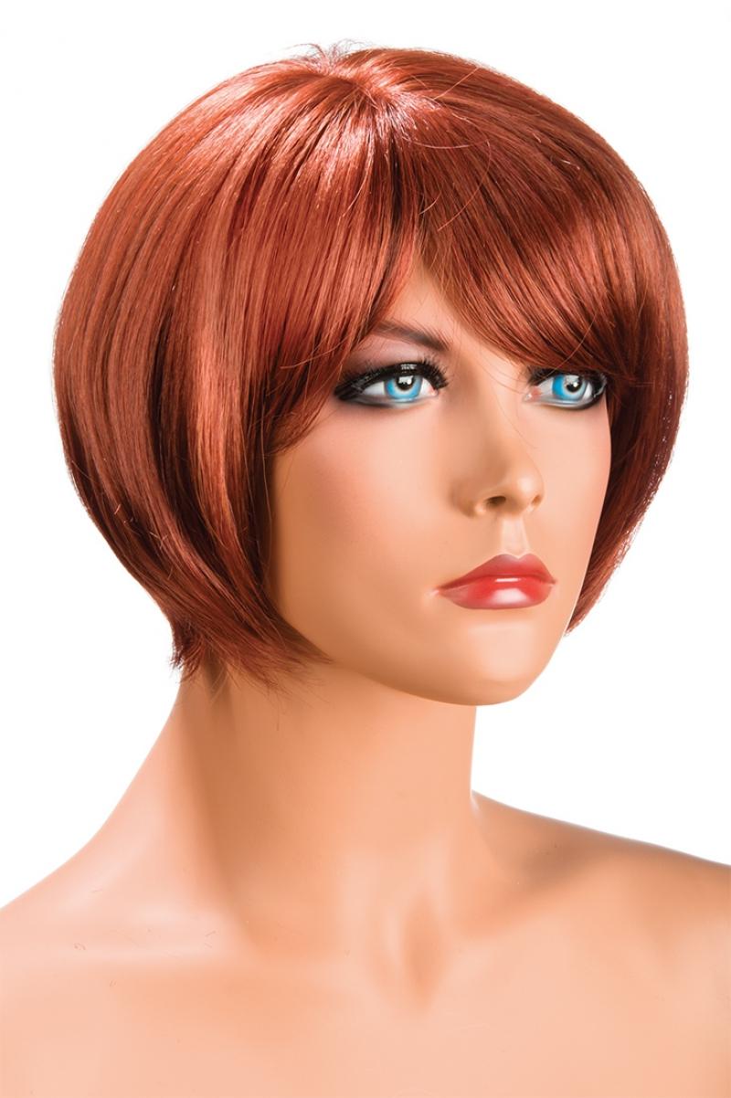 Magasin de perruque femme rousse Mia perruque synthétique