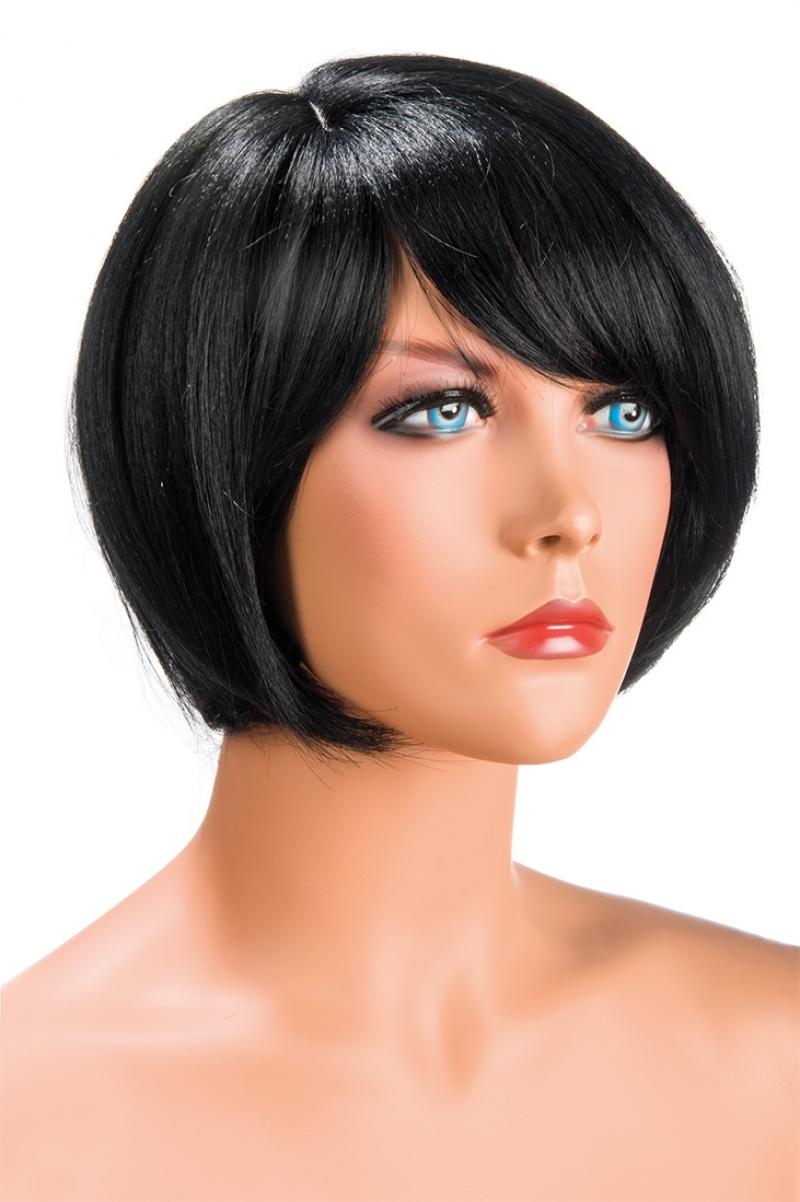 Perruque brune courte Mia World Wigs