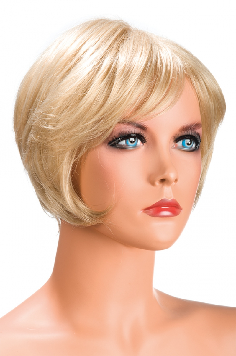 Perruque carré blond Daisy blonde World Wigs