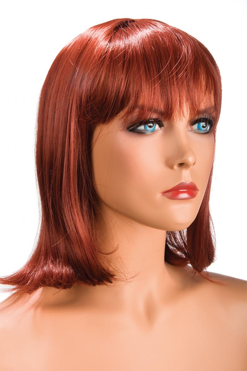 Magasin de perruque femme rousse Camila perruque synthétique