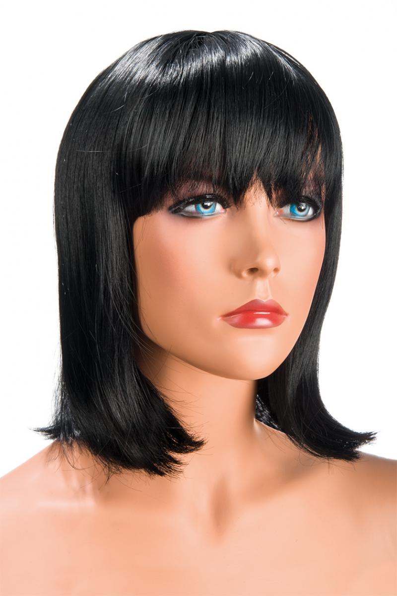 Magasin de perruque femme brune Camila perruque synthétique