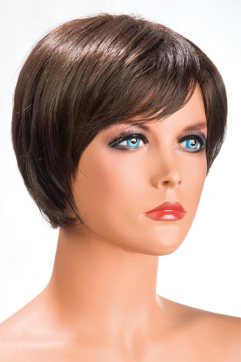 Magasin de perruque femme châtain Daisy perruque synthétique