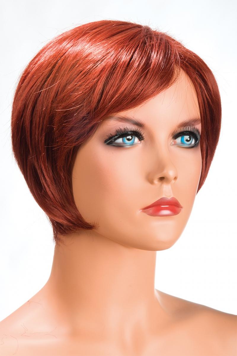 Magasin de perruque femme rousse Daisy perruque synthétique