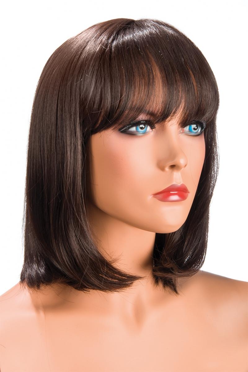 Magasin de perruque wig perruque deguisement châtain Camila