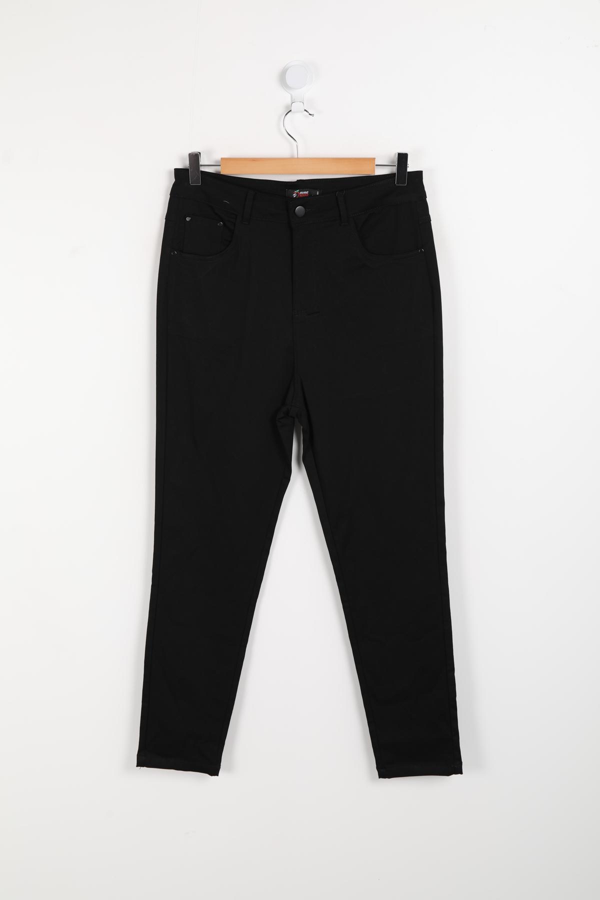 pantalon grande taille femme pomme rouge b302 noir 42-56