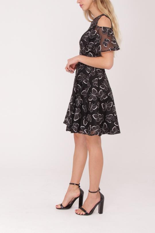robe de cocktail courte ASHWI asm1722 imprimé S au XL