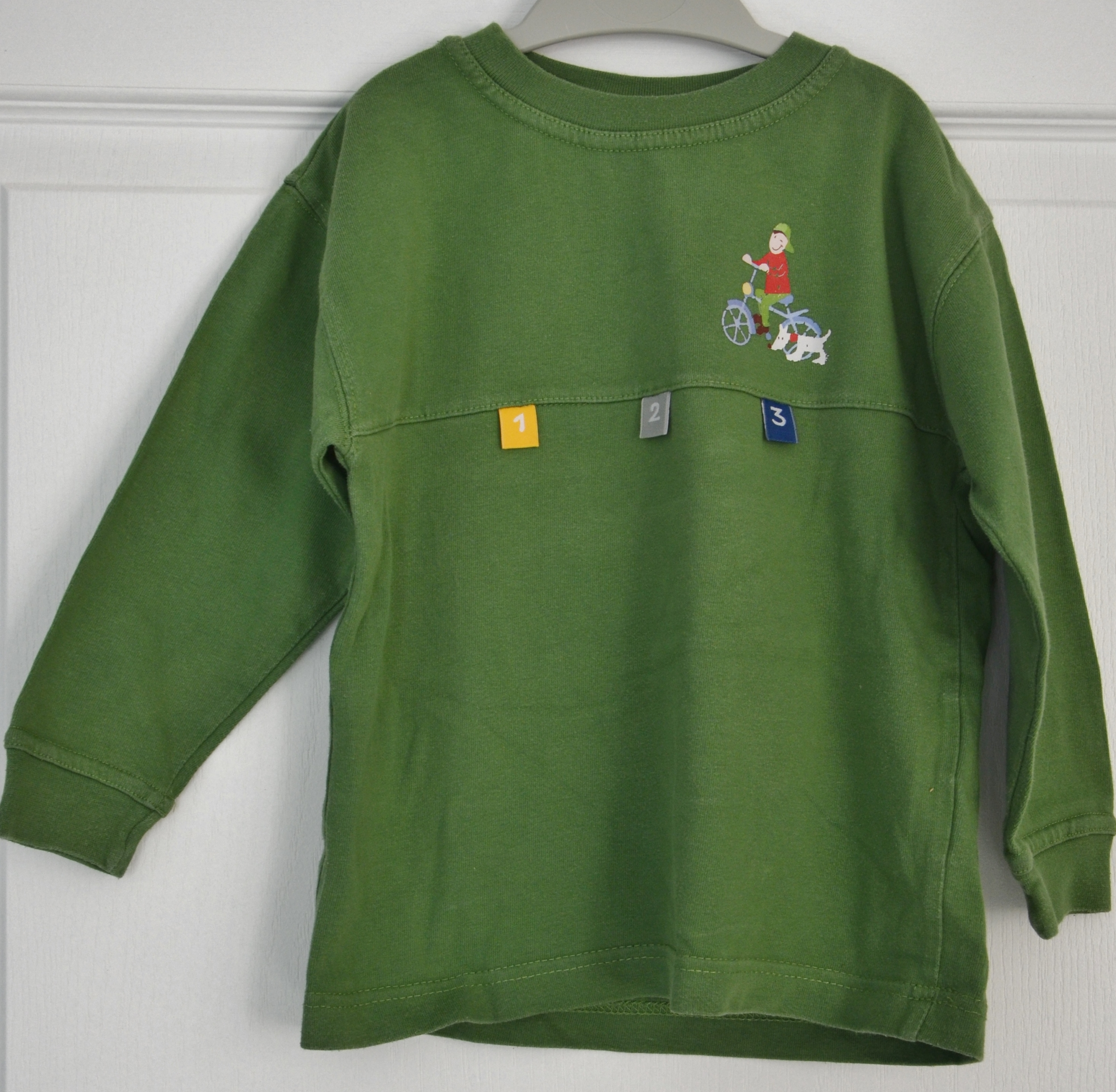 tee shirt manches longues petit junior 4 ans