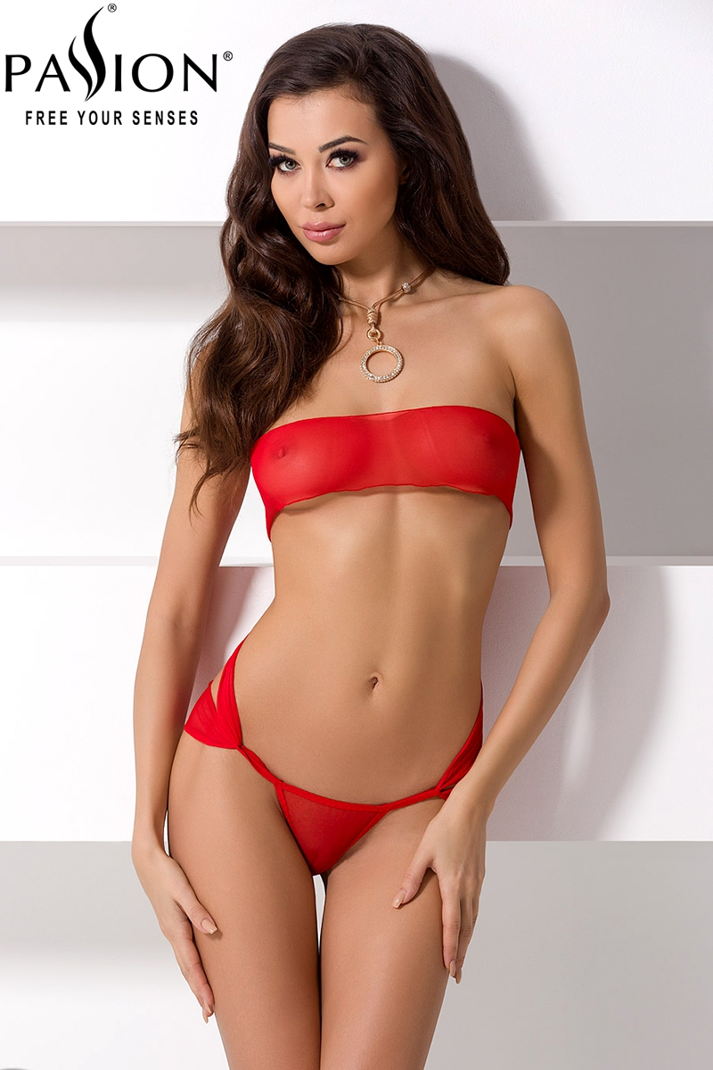 Amore ensemble sexy - Rouge Passion lingerie