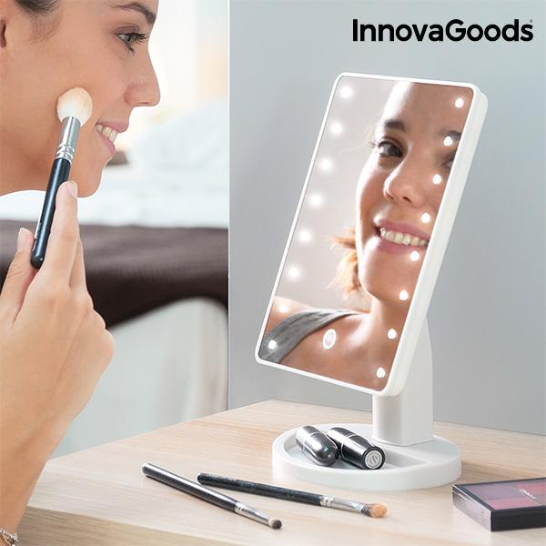 Miroir de Table LED Tactile InnovaGoods