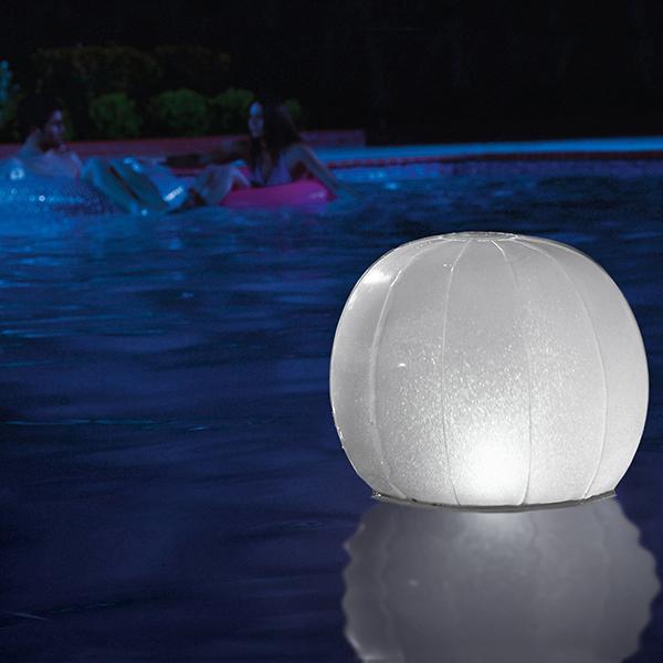 Globe LED Gonflable pour Piscine Intex