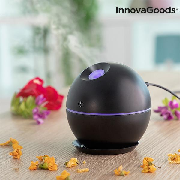 Mini humidificateur diffuseur d\'arômes Black InnovaGoods