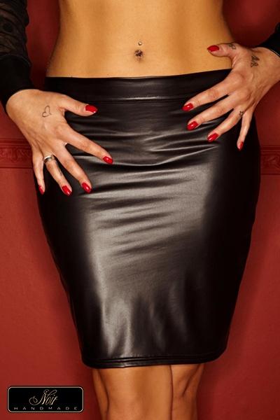 Jupe Acedia noir handmade