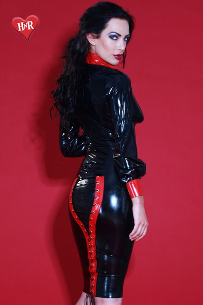Jupe latex Mistress honour