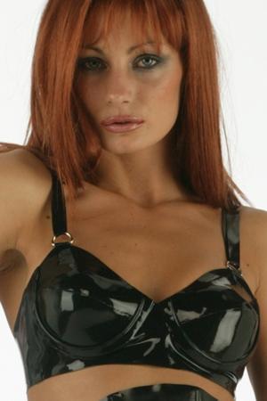 Soutien gorge latex PowerBra lingerie latex honour