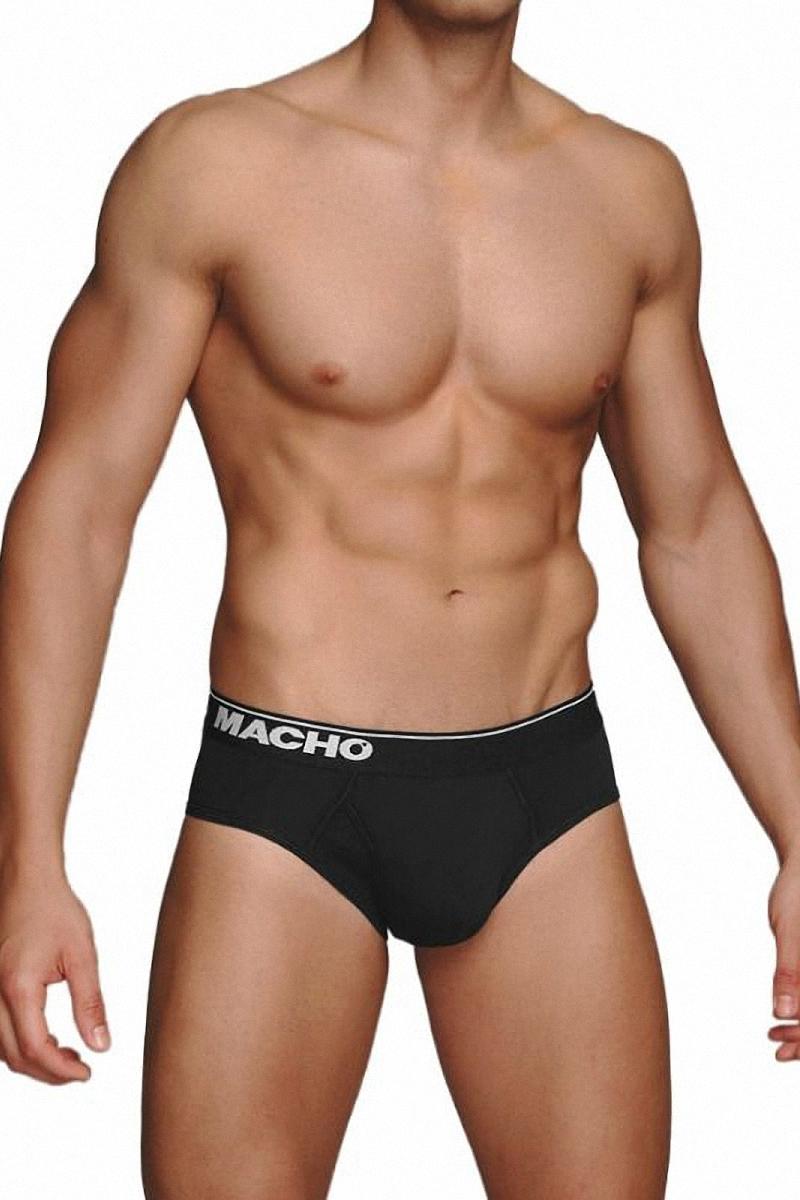 Slip MC088 noir macho