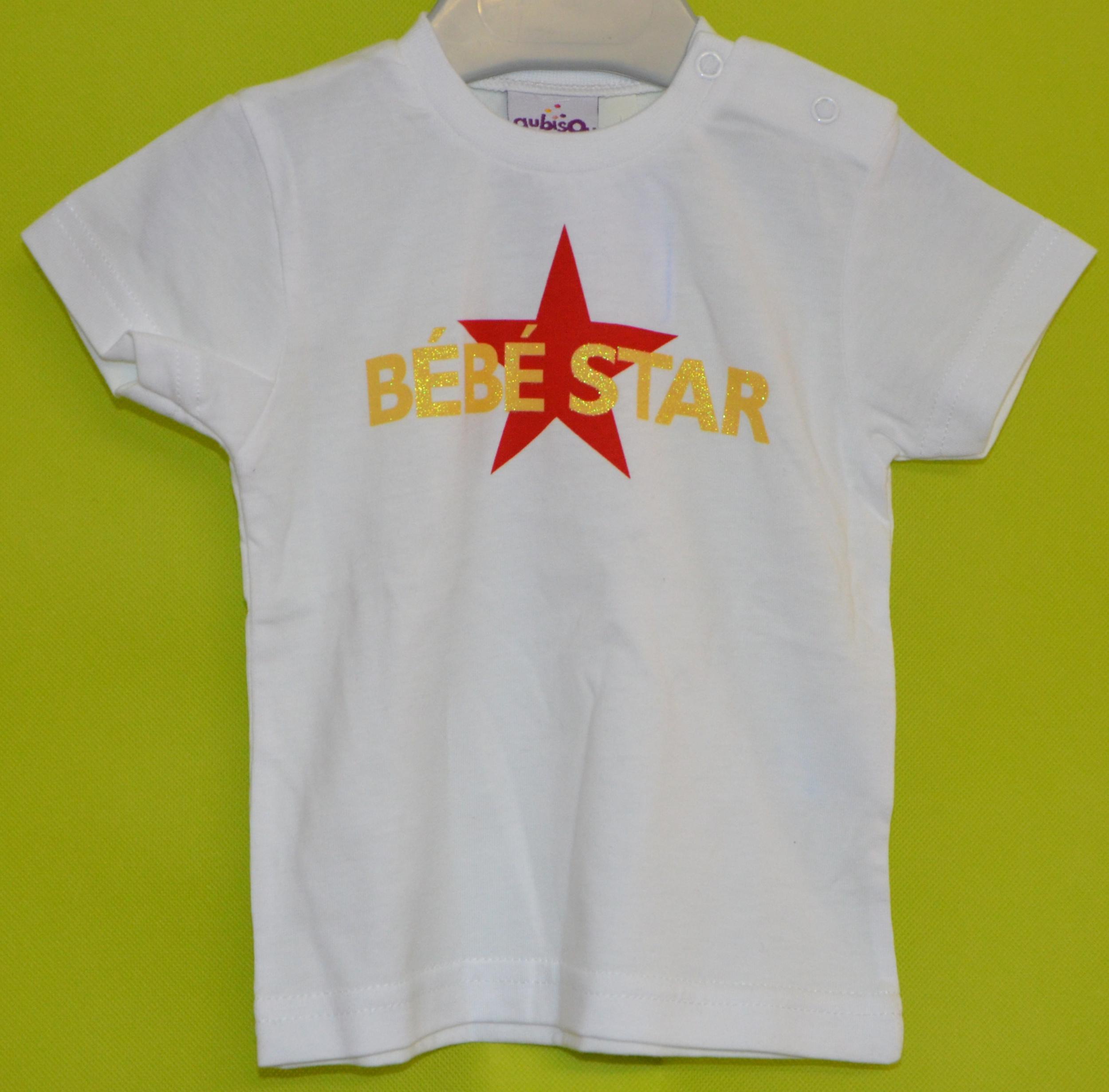 t-shirt fille 18-24 mois aubisou