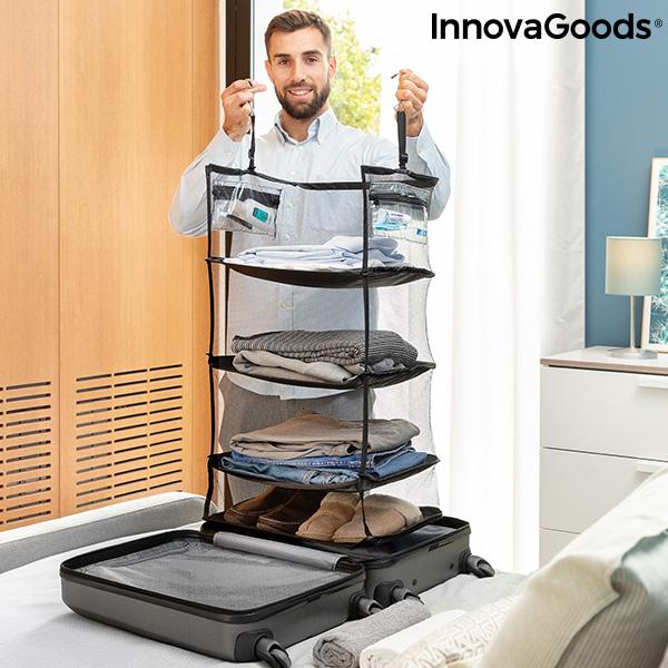 Etagère de rangement pliable portative pour bagages Sleekbag InnovaGoods