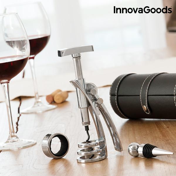 Ensemble d\' accessoires à vin avec Tire-Bouchon InnovaGoods