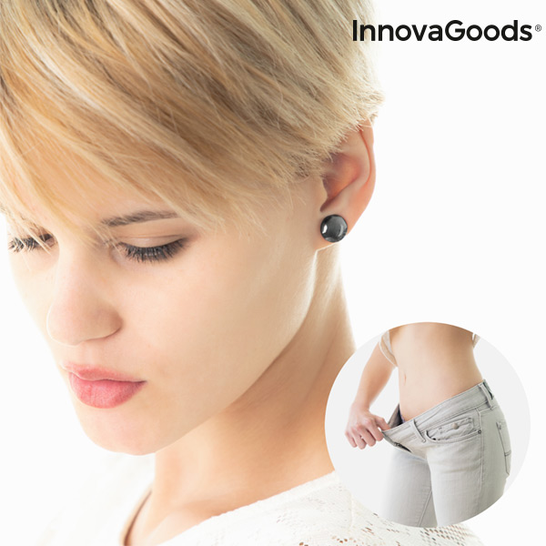 Boucles d\'oreilles Amincissantes Biomagnétiques Slimagnetic InnovaGoods