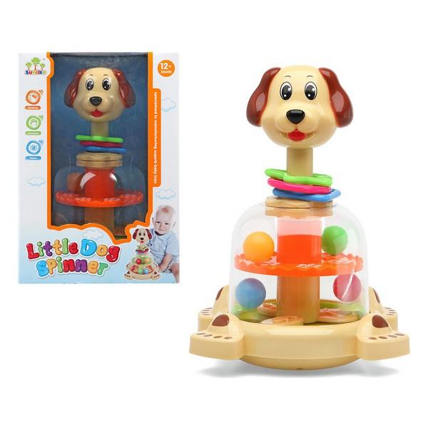 Jouet interactif pour bébé Little Dog Spinner 111403