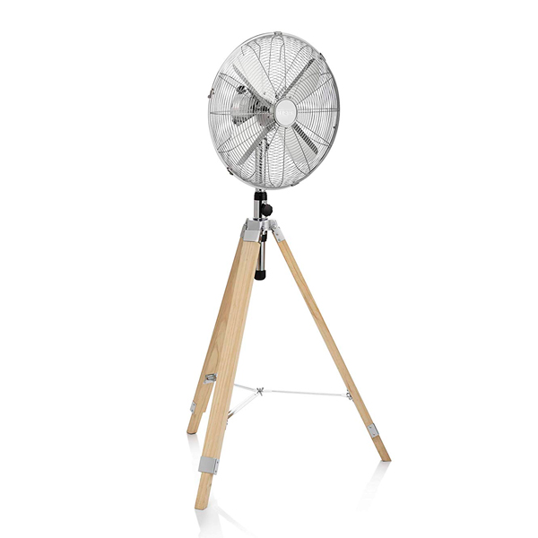 Ventilateur sur Pied avec Trépied en Bois Tristar VE-5805 60W