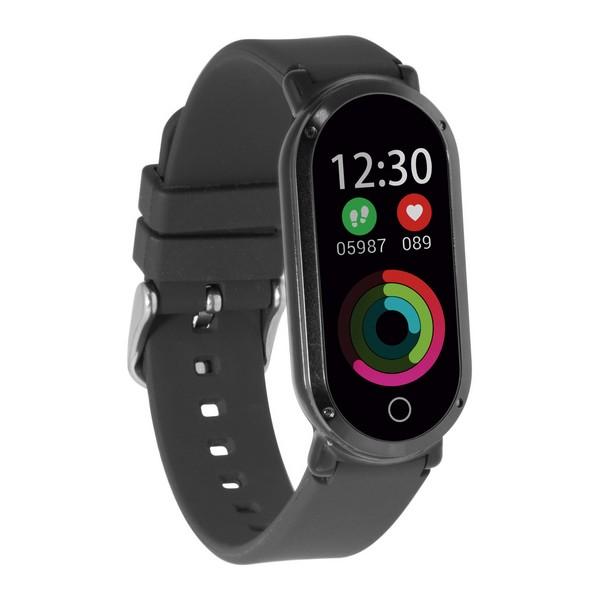 Bracelet d activite KSIX fitness band HR3 0,96 TFT Bluetooth noir
