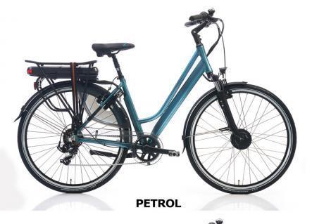 Vélo électrique haut de gamme Riviera velo route electrique 28 p h51 petrol