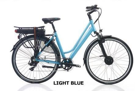 Vélo électrique haut de gamme Riviera velo route electrique 28 p h51 bleu clair mat
