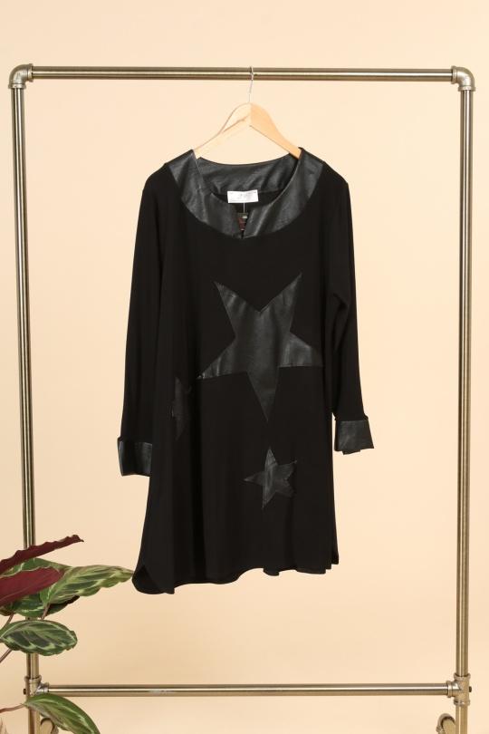 Tunique grande taille originale marque 2w vêtements vente en ligne H3483 N