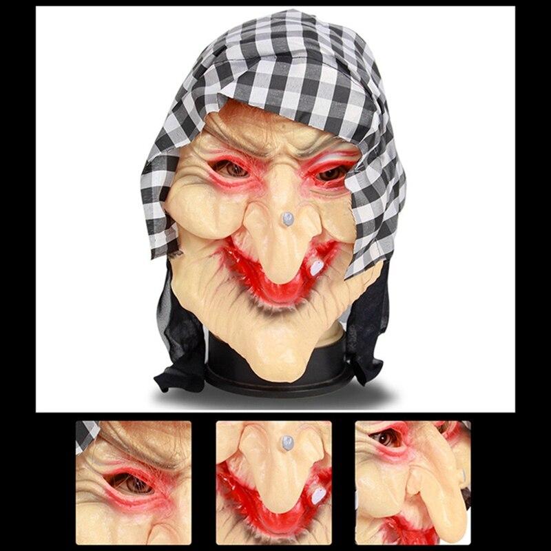 masque sorciere halloween deguisement sorciere