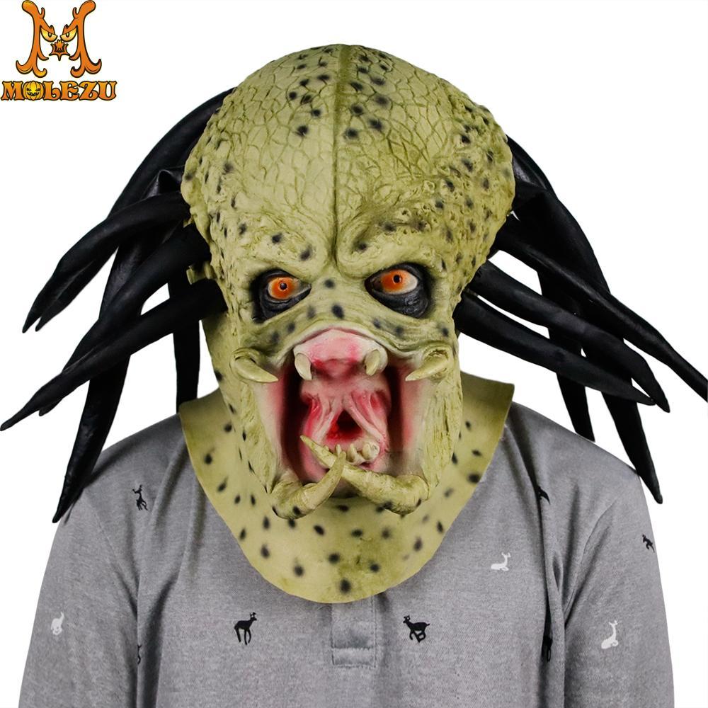 Masque predator latex boutique deguisement